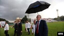 El canciller de Holanda, Timmermans visita Cuba