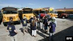 Autobuses donados a Cuba por Pastores por la Paz