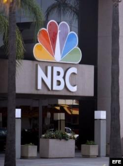 Fotografía de los estudios de la cadena NBC en California.