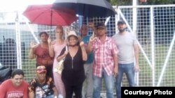 Un grupo de cubanos en Trinidad y Tobago