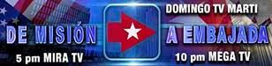 Promo - Banner - Avanza Cuba, de Misión a embajada - 308 x 75 px - 72 dpi