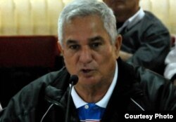 Higinio Vélez, presidente de la Federación Cubana de Béisbol Amateur