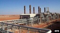 La planta de gas Ain Amenas se halla en pleno desierto a unos mil 300 kilómetros al sur de Argel.