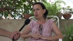 Declaraciones de Omara Ruiz Urquiola a Cuba al Día