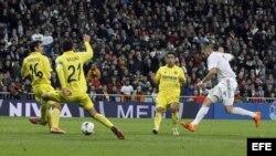 El delantero francés del Real Madrid, Karin Benzema