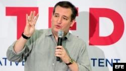 Ted Cruz en campaña.