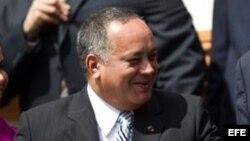 Fotografía de archivo de Diosdado Cabello.