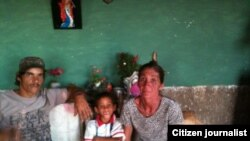 Reporta Cuba Famila enferma con Sida vive en la penuria Foto Jorge Bello