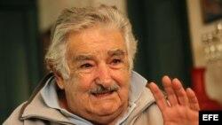 Foto de archivo del presidente de Uruguay, José Mujica.