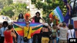 Marcha Gay en La Habana