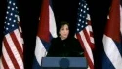 Cuba y Estados Unidos abordan temas espinosos