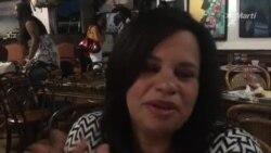 Claudia del Río, miembro del Foro Afrocubano