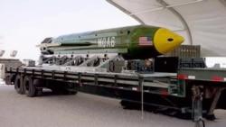 EEUU lanza su más potente bomba no nuclear contra grupo terrorista Estado Islámico