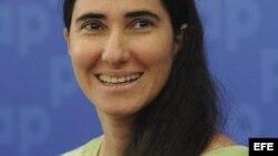 Yoani Sánchez regresa a Cuba