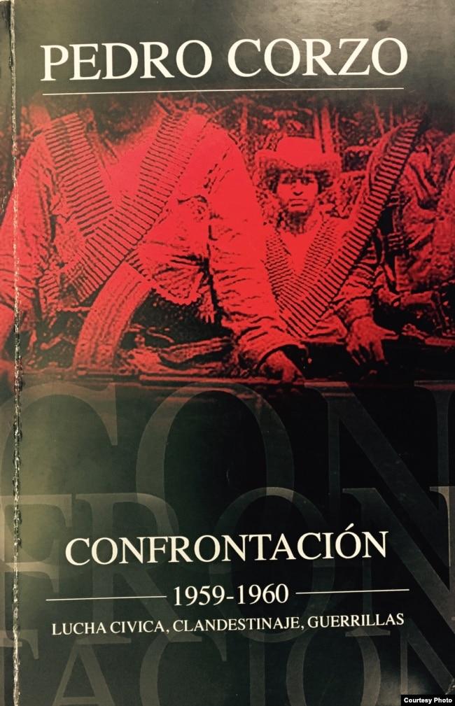 """""""Confrontación"""", de Pedro Corzo. (Portada)."""