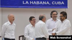 Con el aval del Gobierno y la Guerrilla, los líderes de las Farc serán llevados a Cuba, en un operativo liderado por el Comité Internacional de la Cruz Roja.