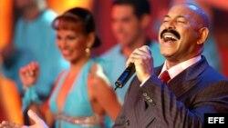 El cantante venezolano Oscar D´León