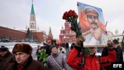 RUSIA CONMEMORA EL 65º ANIVERSARIO DE LA MUERTE DE STALIN