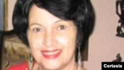 La bloguera cubana Rebeca Monzó/ Foto de archivo