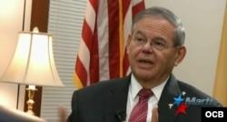 Senador demócrata de New Jersey, Bob Menendez.