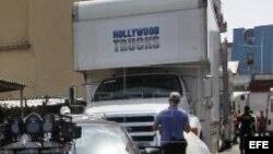 """Alistan equipo técnico para la filmación de escenas de la película """"Fast & Furious 8"""" en La Habana."""