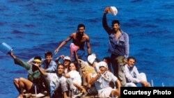Balseros cubanos a la espera en México de proceso migratorio