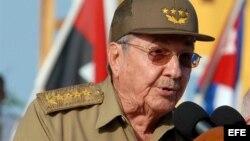 Raúl Castro 26 de julio de 2012 Guantánamo