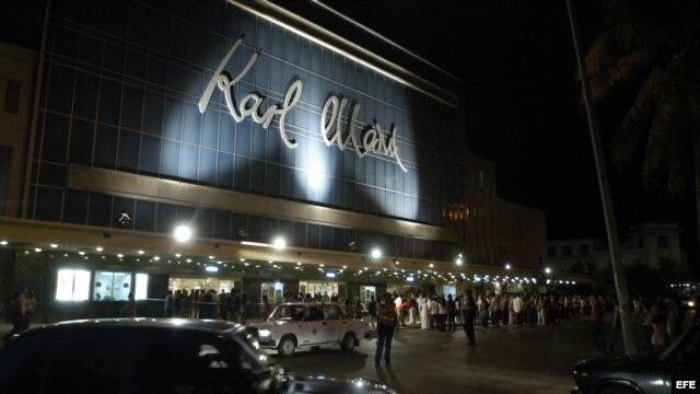 Teatro Karl Marx, La Habana, Cuba.