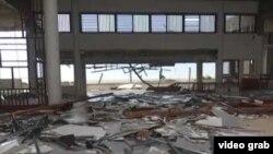 Destrozos del huracán Irma en el hotel Pullman de Cayo Coco