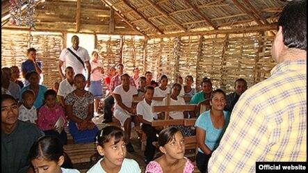Casas culto. Foto cortesía de EchoCuba.org