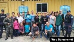 Honduras retiene a 47 cubanos el 7 de julio.