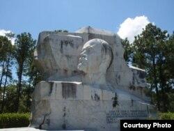 Monumento a Lenin en el parque habanero que lleva su nombre.