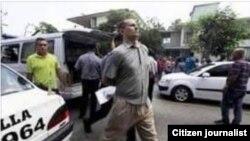 El líder de UNPACU, José Daniel Ferrer, es detenido en la sede de la organización, en el reparto Altamira de Santiago de Cuba.