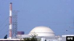 Vista general de la central nuclear de Bushehr, en el sur de Irán.
