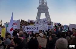 Protesta en París.