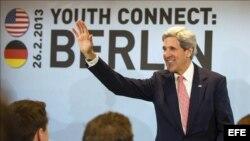 John Kerry en Berlín
