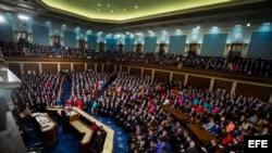 Sesión en el Capitolio en Washington. Archivo.