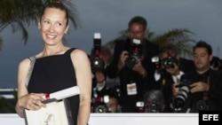 "Actriz Emmanuelle Bercot, por ""Mon roi""."