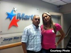 Ignacio Estrada y Wendy Iriepa