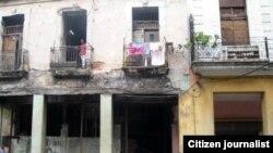 Reporta Cuba Peligro de derrumbe Foto Mario Hechavarría