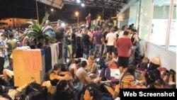A punto de concluir segundo corredor humanitario para migrantes cubanos.