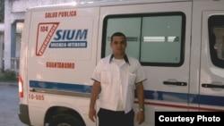 Ambulancia en Guantánamo, Cuba