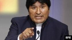"""El presidente Evo Morales instruyó además a los mandos y academias militares a incorporar en sus cursos la """"ideología anticolonialista""""."""
