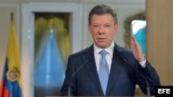 Juan Manuel Santos dijo que el acuerdo entre su Gobierno y las FARC sobre participación política, muestra que hay que seguir dialogando en busca de la paz.