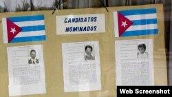 Elecciones delegados Poder Popular