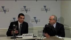 Alto funcionario diplomático cubano participa en evento de Diálogo Interamericano