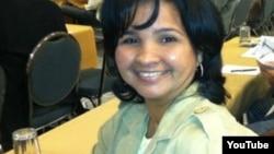 Karina Gálvez economista y editora de la Revista Convivencia