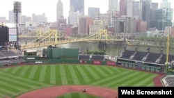 El PNC Park, estadio de los Piratas de Pittsburgh.