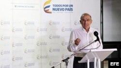 El jefe de la delegación de paz del Gobierno colombiano, Humberto de la Calle.