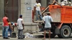Pésimas condiciones para trabajadores comunales en Cuba